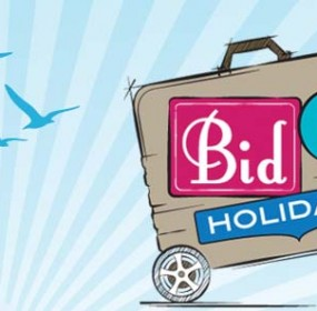 Bid for your next holiday.. and donate to charity