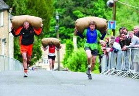 For a taste of a very British tradition, head down to the Cotswolds for the Tetbury Woolsack Races on the upcoming spring bank holiday.