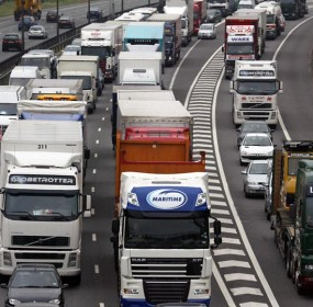 The M25 traffic jam holiday