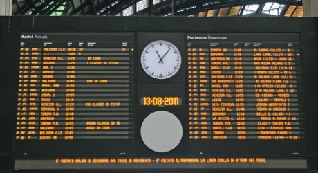 Train Arrivals Board